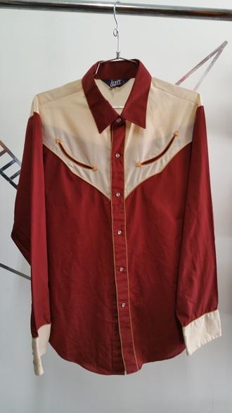 shirt western levi's
