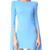 Alex Perry Jade Dress - Powder Blue