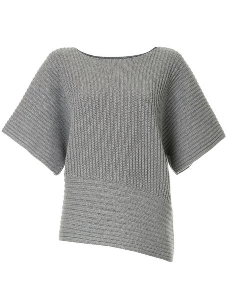 Fabiana Filippi sweater women silk grey