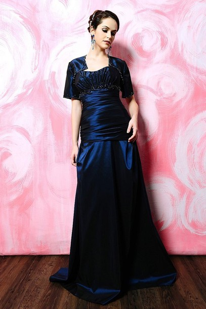 dress wedding taffeta beaded adorned a line dress