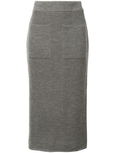 Cityshop skirt women wool grey