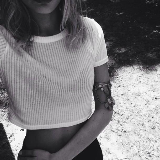shirt crop tops