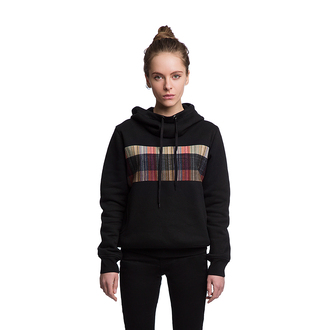 sweater hoodie hooded sweatshirt sweatshirt print printed sweater black black hoodie black sweater streetstyle streetwear fashion style clothes womenswear girl fusion ripped jeans
