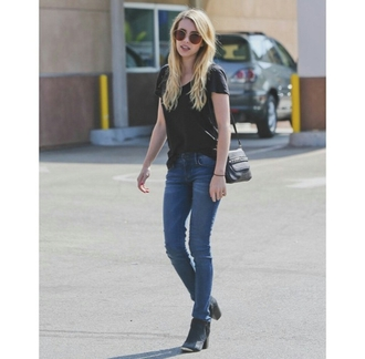jeans skinny jeans boots ankle boots on point on point clothing street streetwear streetstyle street fashion street clothing street styled casual casual t-shirts casual chic