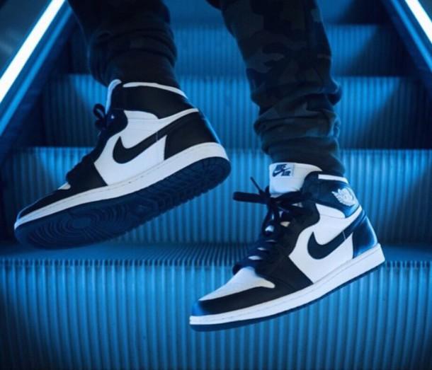 shoes nike nike air sneakers sneakers high top sneakers