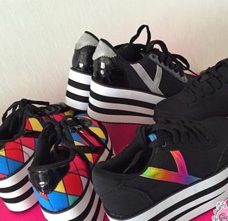 shoes platform sneakers sneakers high