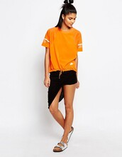 top,sportswear,sports top,orange,nike