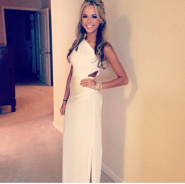 prom dress white dress dress