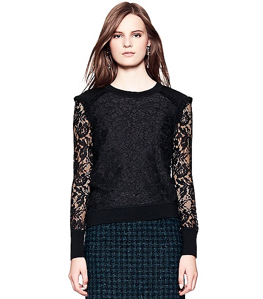Dina Sweater  | Womens Pullovers | ToryBurch.com