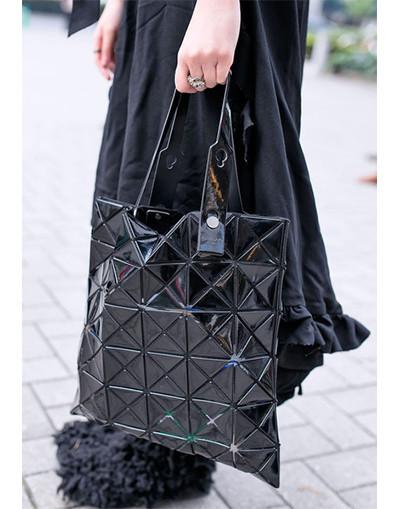 Hologram geometric bag handbag bags tie dye laser purse tote blogger