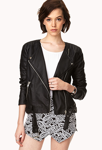 Secret Rebel Faux Leather Jacket | FOREVER21 - 2000129299