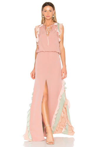 gown pink dress