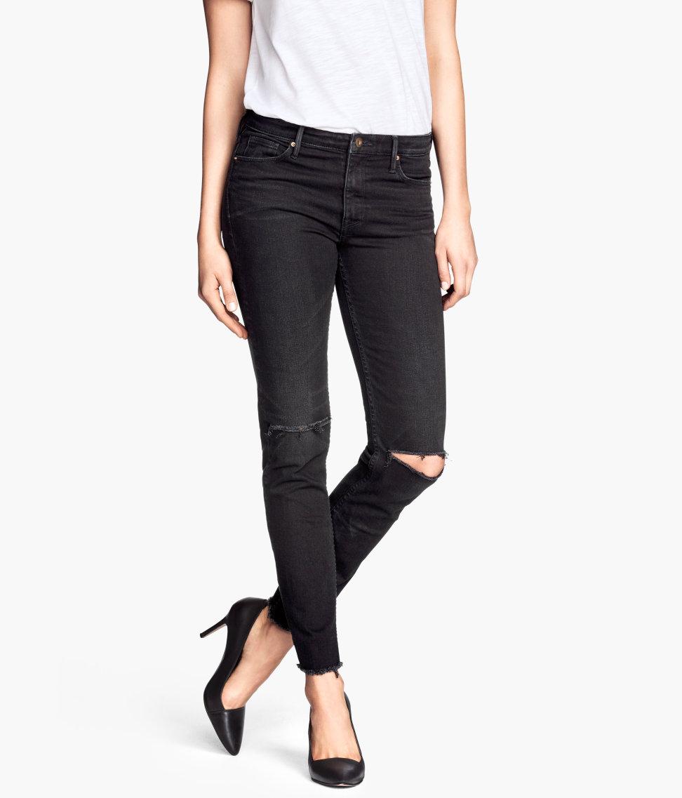 H&M Anklejeans Skinny fit 29,99