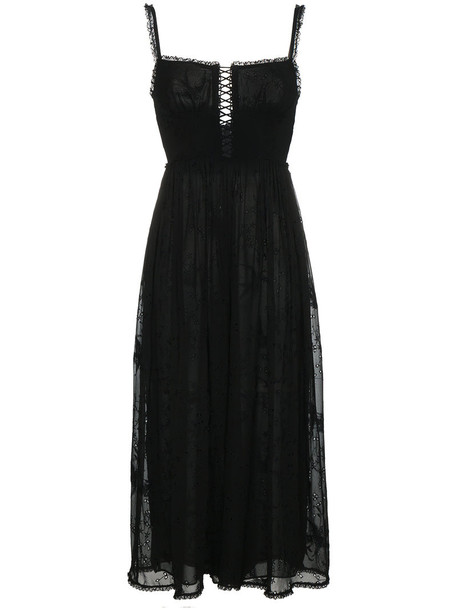 Zimmermann jumpsuit strappy women black silk