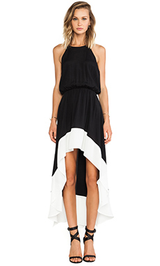 Bardot Collette Dress in Black & White | REVOLVE