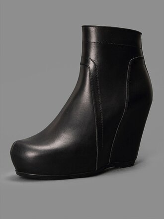shoes black black boots leather leather boots goth street goth health goth goth shoes rick owens all black everything boots goth hipster