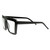 Retro Flat Top Block Aviator Clear Lens Glasses 8065                           | zeroUV