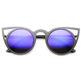 sunglasses black black sunglasses blue blue sunglasses cat eye metal frame sunglasses