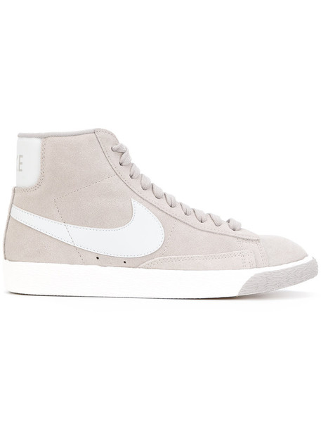Nike vintage women sneakers suede grey shoes