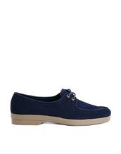 shoes,ymc festival apron flat shoes,ymc,festival apron flat shoes,flats,blue