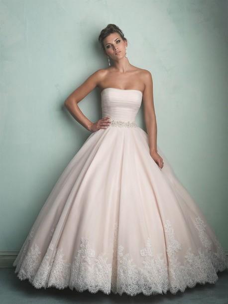 Pink Wedding Dress 2015