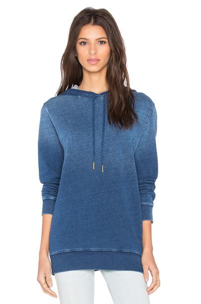 Stateside pullover hoodie pullover hoodie blue