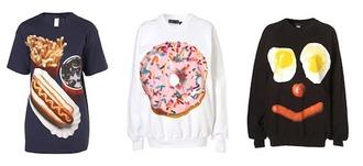 sweater food junk food sweater junk food print junk food