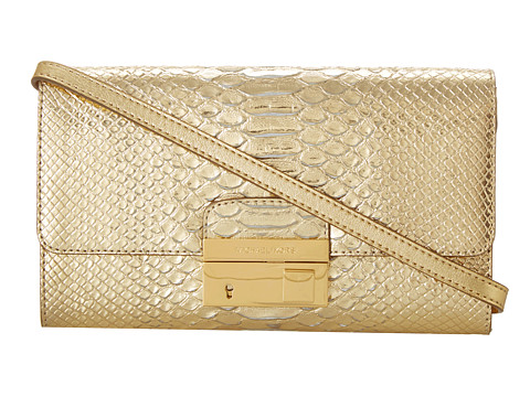 Michael Kors Collection Gia Clutch Pale Gold - Zappos.com Free Shipping BOTH Ways