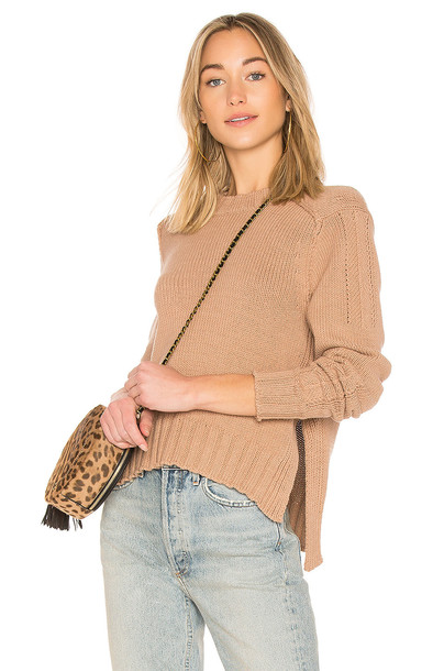 360CASHMERE sweater tan