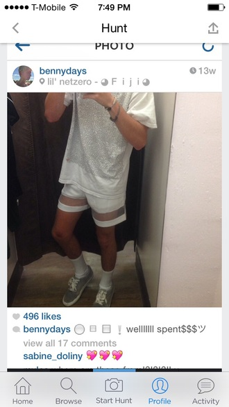 shorts see through transparent shorts mens shorts helpmetofindit