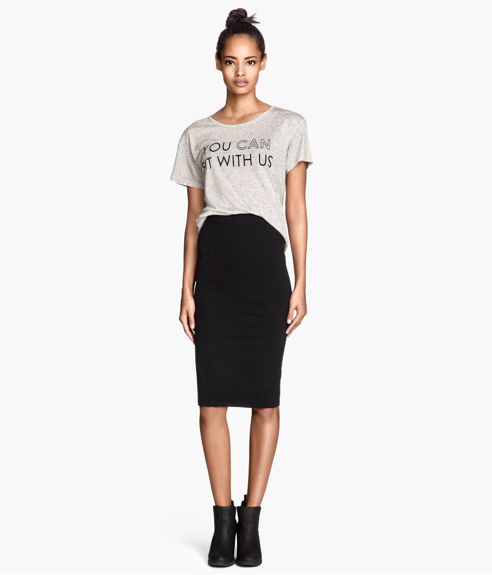 H&M Jersey Skirt $12.95
