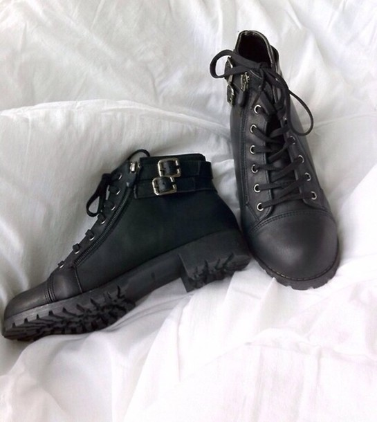 shoes black boots ankle boots