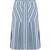Sphery striped cotton skirt
