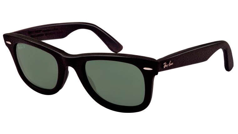 Ray-Ban Sunglasses - Collection Sun - RB2140QM - 1152/N5 - WAYFARER LEATHER | Official Ray-Ban Web Site - Australia