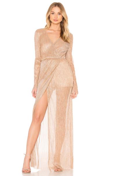THE JETSET DIARIES dress maxi dress maxi blush