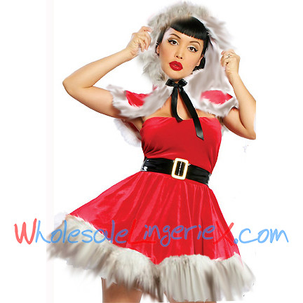 Wholesale Sexy Santa Cape CMS530 [CMS530] - $12.70 : CostumesRoad