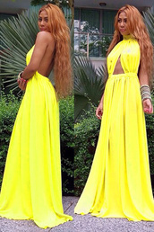 yellow,apparel,accessories,clothes,dress,maxi dress,gown