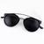 Black Lenses Round Sunglasses - Sheinside.com