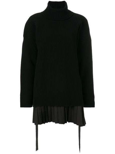 Diesel Black Gold - roll-neck sweater dress - women - Wool/Nylon/Spandex/Elastane/Cotton - 40, Wool/Nylon/Spandex/Elastane/Cotton