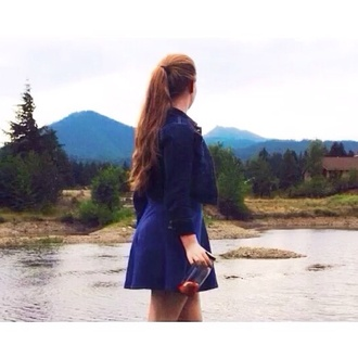 blue dress blue coat jacket aritzia jeans denim denim jacket dress skater skater dress short dress shirt cute dress cute cute outfits summer dress summer style summer outfits spring outfits outfit clothes