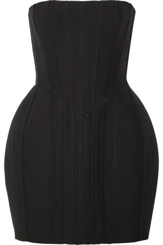 dress mini dress mini strapless black