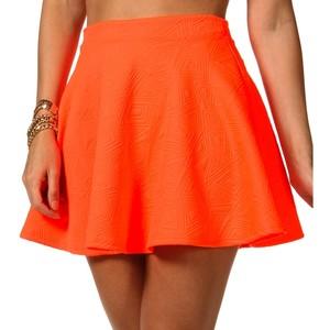 Embossed Skater Skirt