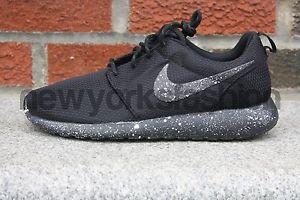 New Nike Roshe Run Custom White Splatter Men Women | eBay