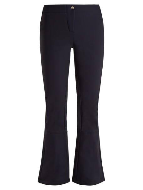Fusalp flare dark blue dark blue pants