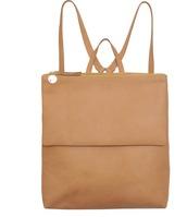 bag,leather,leather backpack,leather bag,nude bag,backpack
