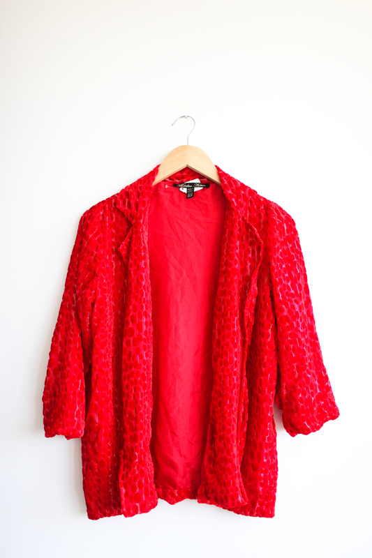 Winter kate red kimono