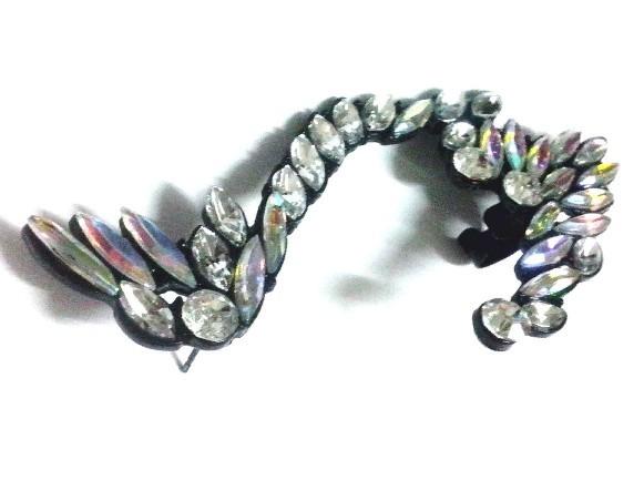 New Fashion Gothic Punk Elf Full Rhinestone Ear Cuff Clip Earring Stud 1pc | eBay