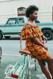 dress,ankara,ankara print,all things ankara,ankara gown,african print,african dress