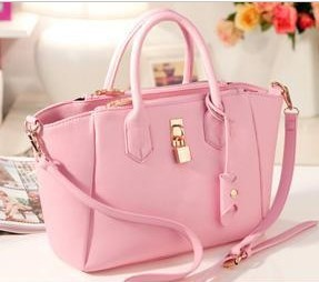Design 3Colors Leather Fashion Vintage Luxury Bat Bag Ladies ...