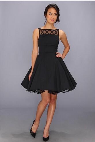 dress skaterdress tulledress black dress